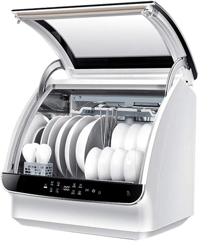 LiChenYao Mini Lavavajillas, 6 Juegos De Vajilla De La Casa Lavaplatos Automático, Funcionamiento por El Ahorro De Electricidad Compactos Lavavajillas De Apartamento De Cocina: Amazon.es: Hogar