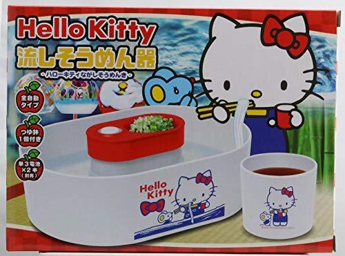 サンリオキャラクタ?ズ 채 냉면 기 전 자동 타입 (국물 냄비 1 개) 키티 / Sanrio Characters Sink Noodle Bowl Fully Automatic Type (with 1 Tsuyubowl) Hello Kitty