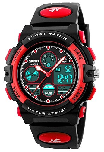 Led Watch Red Light in US - 2