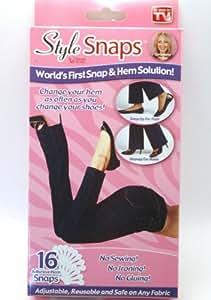 Style Snaps Hem Solutions, Set of 16