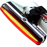 Ultra Bright Bike Light Blitzu Cyborg 168T USB...