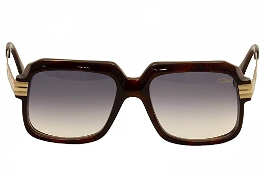 28354e2eb8dc Cazal 607 2 Sunglasses 080SG Amber Brown Matte Shiny Gold Brown Gradient   Amazon.in  Clothing   Accessories