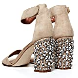 Cold Feet byJeffrey Campbell 'Lindsey Jewel', bling wedding sandal, 10