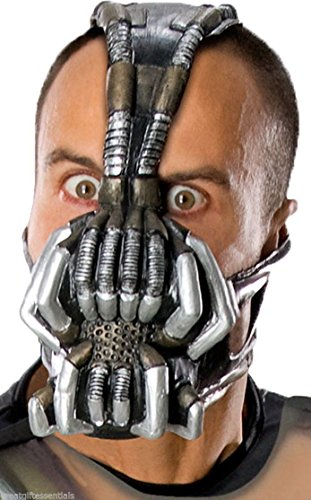 BANE ADULT GAS MASK BATMAN DARK KNIGHT RISES COSTUME ACCESSORY TOM HARDY NEW (Tom And Jerry Centerpiece)