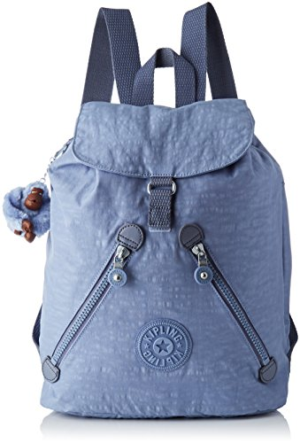Kipling Fundamental, Shopper Donna, 42x42x16,5 cm Blu (timide C bleu)