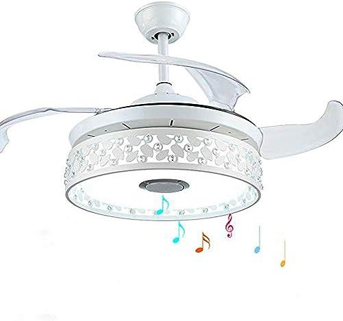 MoreChange 42 Inch Bluetooth Ceiling Fan