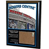MLB Toronto Blue Jays Rogers Centre 8x10-Inch Game Used Dirt Plaque Photomint