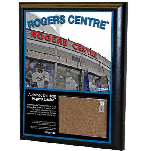 MLB Toronto Blue Jays Rogers Centre 8x10-Inch Game Used Dirt Plaque Photomint Toronto Blue Jays Game