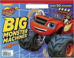 Blaze And The Monster Machines Big Coloring Book