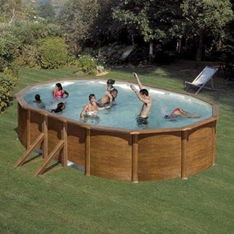 San Marina Pools - Kit De Piscina De Chapa Galápagos 500 X 300 X ...