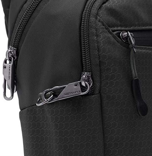 Travelon Anti-Theft Active Tour Bag, Black, 9 x 11 x 3.5