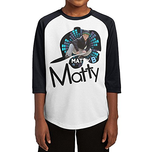 BNF YOUTH Tee Middle Sleeve T Shirts Matty B LOGO Black S.