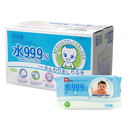Wed 99.9% Sales Case] ​​× 20 [Pack of 80 Wipes Soft by Breakfast