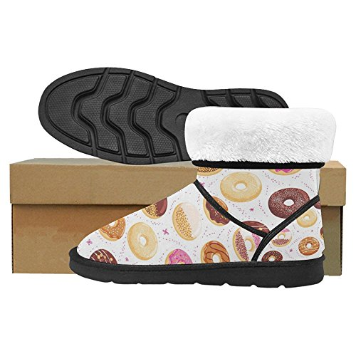 Scarponi Da Neve Womens Interestprint Stivali Invernali Comfort Dal Design Unico Multi 29