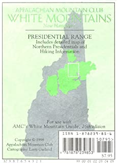 Map of Mount Washington: And the Heart of the Presidential Range ...