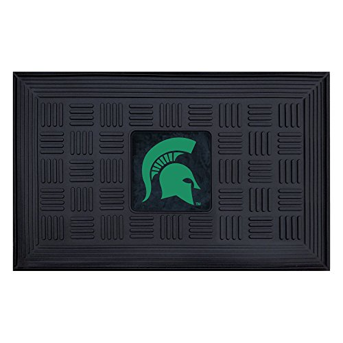 FANMATS NCAA Michigan State University Spartans Vinyl Door Mat State University Door