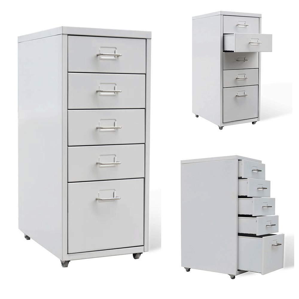 Generic org organizer portaoggetti e stoccaggio o cassetti file Rawers file metallo Home Office Binet D con ruote armadio classificatore