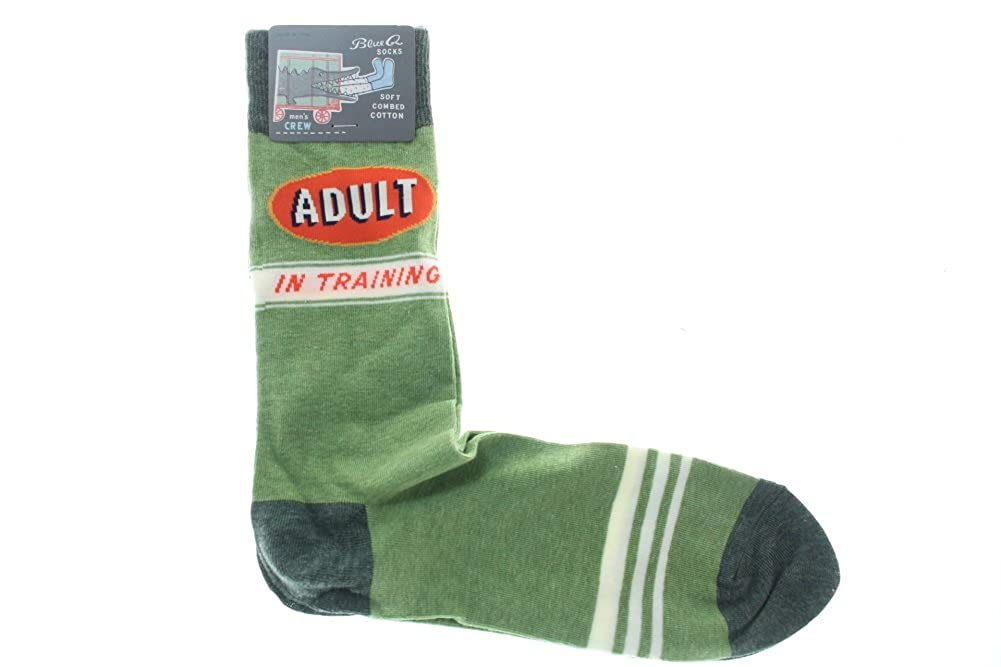 e05efd84e8c5 Amazon.com: Blue Q Men's Novelty Crew Socks