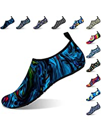 MEIDO Womens and Mens Kids Water Shoes Quick Dry Non-Slip Water Skin Barefoot Sports Shoes Aqua Socks