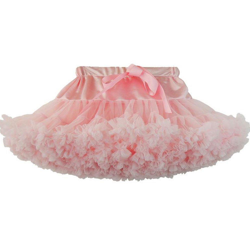 Funkeet Baby Girls Dance Tutu Pettiskirt Ballerina Fluffy Skirts Princess Tulle Petticoat for Ballet Party