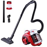 Yescom 1300W 3L Electric Bagless Vacuum Cleaner Sweeper Dust Collector Red