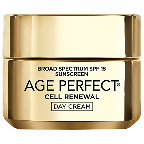 L'Oréal Paris Age Perfect Cell Renewal Day Face Moisturizer with SPF 15 and LHA, 1.7 fl. oz.