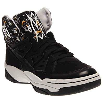 adidas Mutombo Men Sneakers Black White C75208 (SIZE  8.5) f8a2788fd