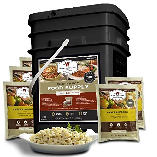 Wise Company 120 Serving Entree Only Grab and Go Kit 15quot L x 12quot W x 10quot H 20 lb