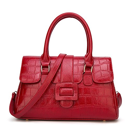 Bag Wild Shoulder Temperament Casual Outdoor Crocodile Brown Trip color Fangyou1314 Red qBEIfTx