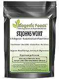 St.Johns Wort - 0.3% Hypericin - Standardized Leaf & Flower Fine Powder Extract (Hypericum perforatum), 1 kg