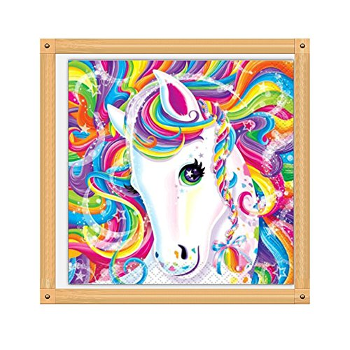 Kimanli 5D Diamond Painting Cross Stitch, Embroidery Paintings Rhinestone Pasted DIY (D 3030cm) -