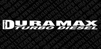 Duramax Diesel 22/'/' windshield banner vinyl car sticker decal