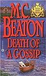 Death of a Gossip par M. C. Beaton