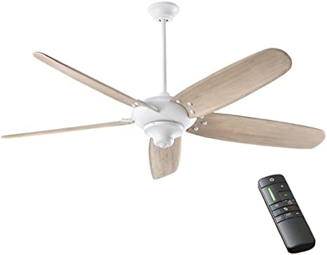Home Decorators Collection Altura Dc 68 In Indoor Matte White Ceiling Fan Amazon Com