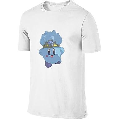 CONNOR LEONARD Kirby Video Game Big Size Mens T-Shirt Black