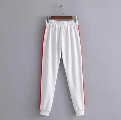 Hellomiko Pantalones Casuales para Mujeres - Estilo Hip Hop Fitness Running  Pantalones de Harén Rectos y Holgados  Amazon.es  Ropa y accesorios 991fea3e9fa