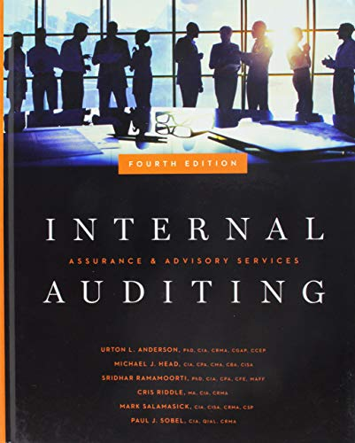 [Urton L. Anderson] Internal Auditing_ Assurance & Advisory Services, Fourth Edition - HB
