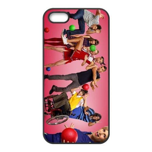Glee coque iPhone 4 4S cellulaire cas coque de téléphone cas téléphone cellulaire noir couvercle EEEXLKNBC25427