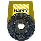 Happy Sales HSTV-ABK01 , Cast Iron Trivet ARR Black