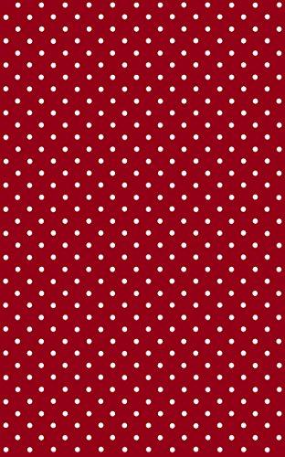 DC Fix 346-0627 Decorative Self-Adhesive Film, Polka Dot Petersen Red, 17