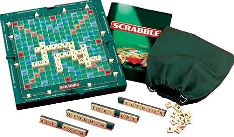 Mattel Travel Scrabble Deluxe [Importado de Inglaterra]: Scrabble Travel Deluxe: Amazon.es: Juguetes y juegos