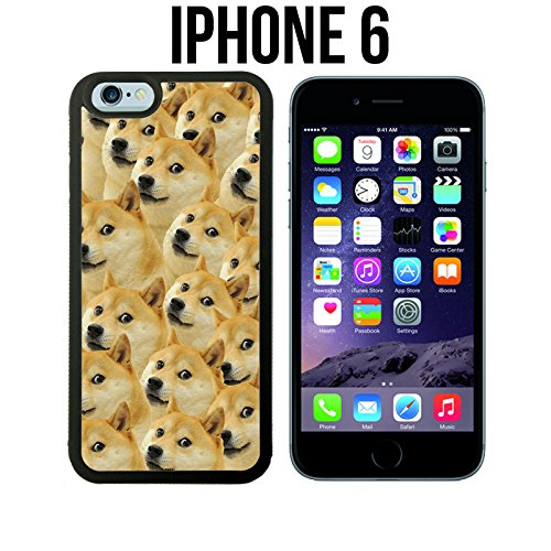 sale retailer 8166a 4ba2a Mr Doge MEME Custom made Case/Cover/Skin for iPhone 6 - Black - Rubber Case  (Ships from CA)