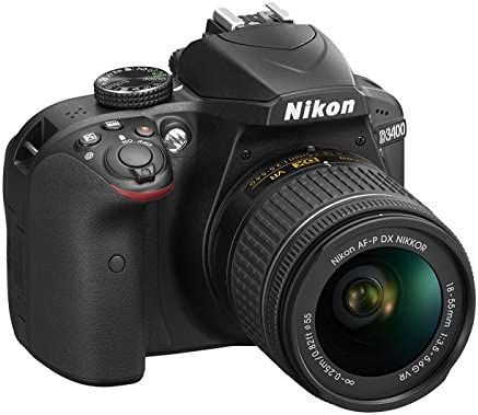 Nikon D3400 + AF-P DX NIKKOR 18-55mm VR 24.2MP CMOS 6000 x ...