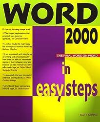 Word 2000 in Easy Steps (In Easy Steps Series)
