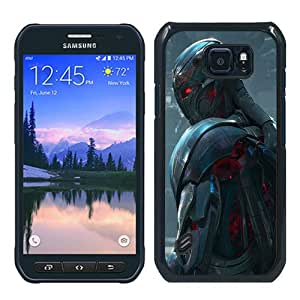 Unique Samsung Galaxy S6 Active Case ,Fashionable And Popular Designed Case With Ultron in Avengers Age of Ultron(1) Black Samsung Galaxy S6 Active Cover Case Good Quality Phone Case