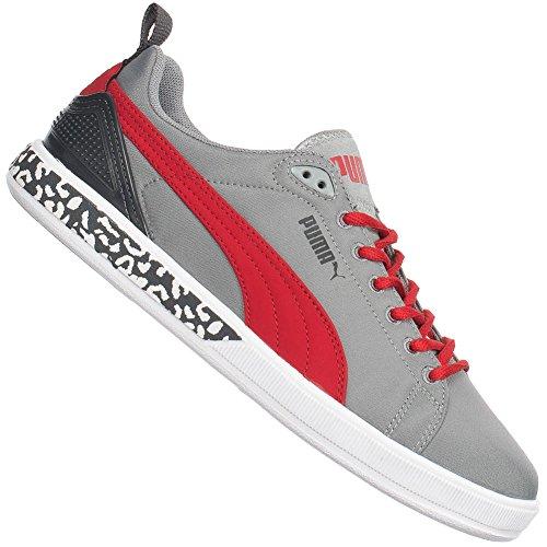 Zapatillas Puma Gray/Regal red/Dark Sahadow
