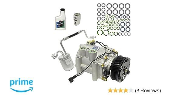 New KT 3767 UAC A//C Compressor Kit - 2005 Chevrolet Equinox 19130559