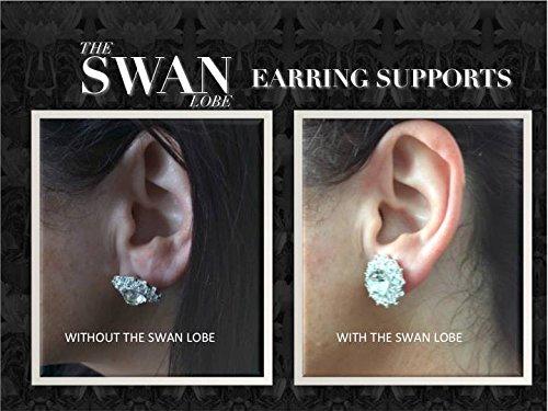 Amazoncom The Swan Lobe Earring Supports Beauty