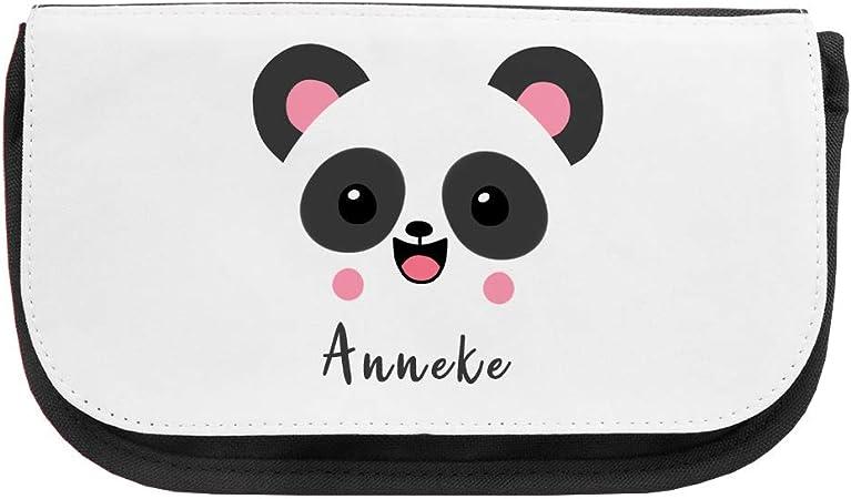 Neceser con nombre y diseño de panda, varios nombres a elegir ...