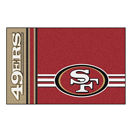 Fanmats San Francisco 49ers Uniform Inspired Starter Rug by Fanmats